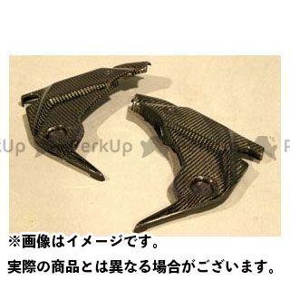 エーテック ニンジャ400R フレームカバー 材質:FRP/黒 A-TECH