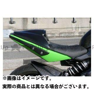 エーテック ニンジャ400R タンデムシートカバー FRP/白 A-TECH