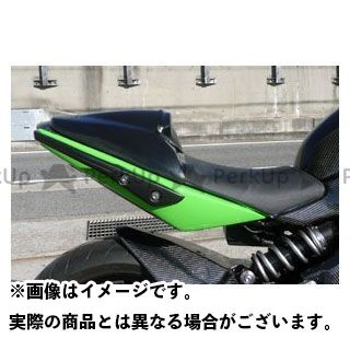 エーテック ニンジャ400R タンデムシートカバー 材質:綾織カーボン A-TECH