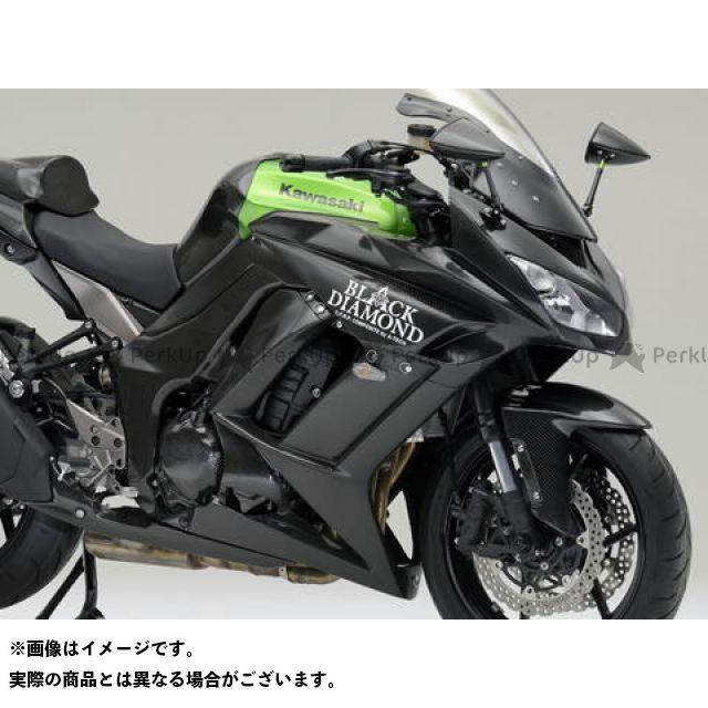 エーテック ニンジャ1000・Z1000SX ストリート用フルカウルSPL3点セット 材質:FRP/黒 A-TECH