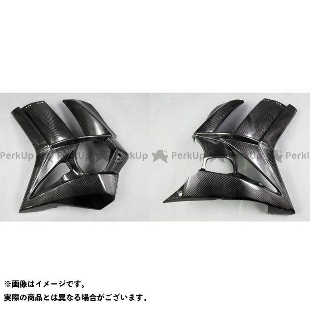 【エントリーで最大P21倍】エーテック ニンジャ1000・Z1000SX サイドカウルSPL 左右セット 材質:FRP/黒 A-TECH