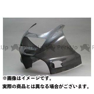 エーテック ZZR1100 アッパーカウルSPL 材質:FRP/白 A-TECH