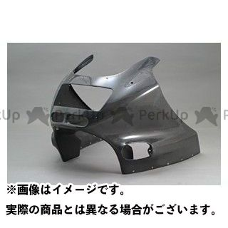 エーテック ZZR1100 アッパーカウルSTD 材質:FRP/白 A-TECH