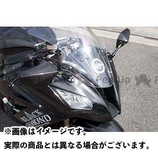 エーテック ニンジャZX-10R アッパーカウル 材質:FRP/黒 A-TECH