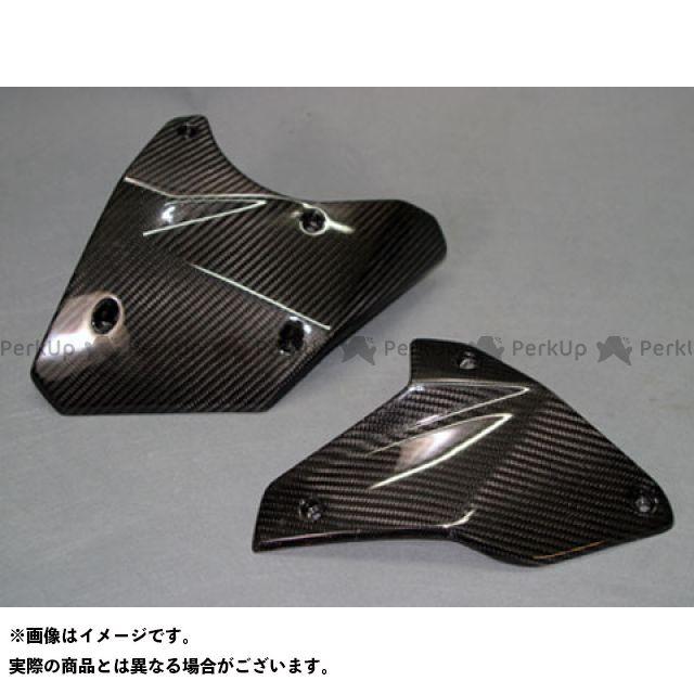 エーテック ニンジャH2R エンジンサイドプレート 左右セット 材質:綾織ドライカーボン A-TECH