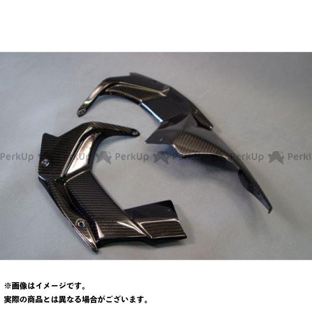エーテック ニンジャH2(カーボン) アッパーカウルインナー 左右セット 材質:開繊ドライカーボン A-TECH