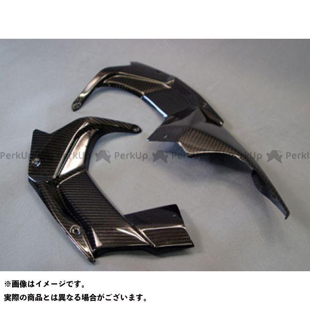 エーテック ニンジャH2R アッパーカウルインナー 左右セット 材質:平織ドライカーボン A-TECH