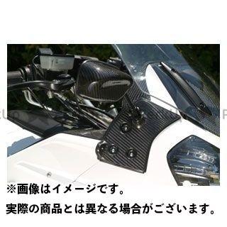 エーテック 1400GTR・コンコース14 カーボンミラー台座セット タイプ4 サイズ:M/80mm A-TECH