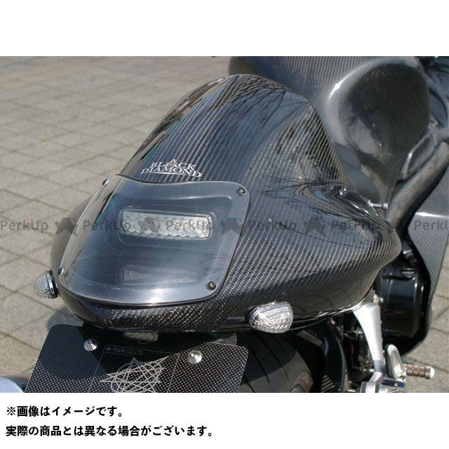 エーテック 隼 ハヤブサ ストリート用SPLシートカウル ビルトインテール 材質:カーボン A-TECH