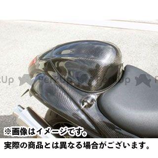 送料無料 エーテック 隼 ハヤブサ ドレスアップ・カバー タンデムシートカバー FRP/黒