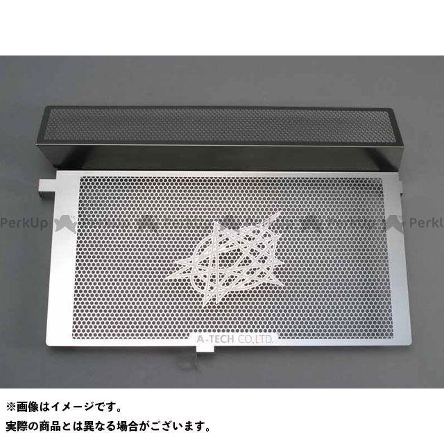 エーテック CBR1100XXスーパーブラックバード ラジエターコアガード(ステンレス) A-TECH