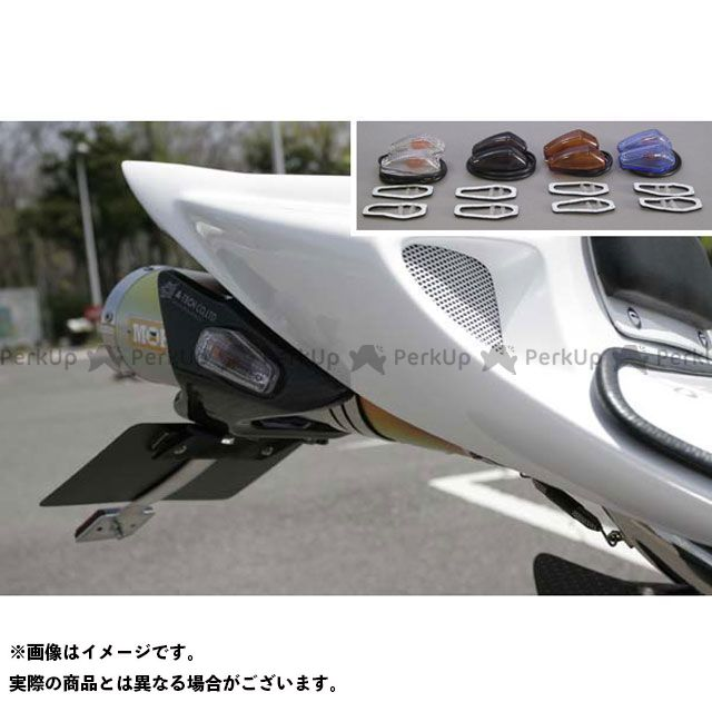 エーテック CBR1000RRファイヤーブレード フェンダーレスキット ウインカー(クリア)付 材質:カーボン A-TECH