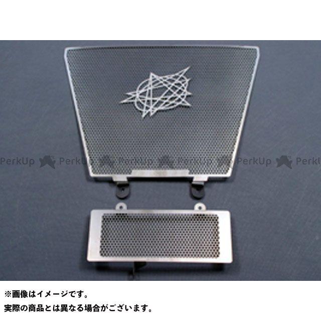 送料無料 エーテック GSX-R1000 ラジエター関連パーツ ラジエターコアガード(ステンレス)