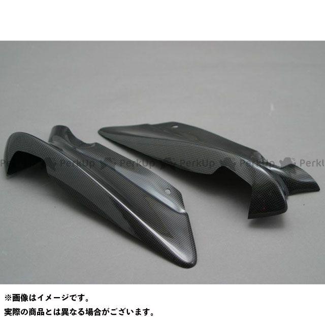 エーテック FZS1000フェザー ハーフサイドカウルセット タイプ:左右セット 材質:FRP/白 A-TECH