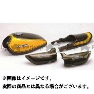 M-TEC中京 Z1・900スーパー4 Z2・750ロードスター イエローボール タンクセット 仕様:初期&後期兼用 M-TEC中京 MRS