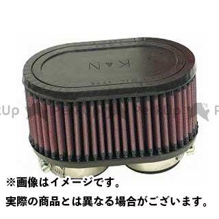 K&N 汎用 カスタムフィルター デュアルフランジ・オーバル 48φ(102×159×82.5×66.5mm) ラバーモールド ケーアンドエヌ