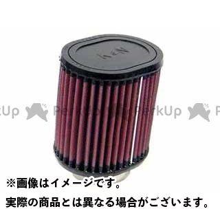 K&N 汎用 カスタムフィルター オーバル・ストレート 57φ(95×114×127mm) ラバーモールド ケーアンドエヌ