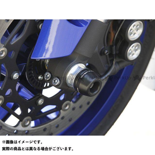 【エントリーで最大P23倍】オーバーレーシング MT-10 YZF-R1 フロントアクスルスライダー OVER RACING