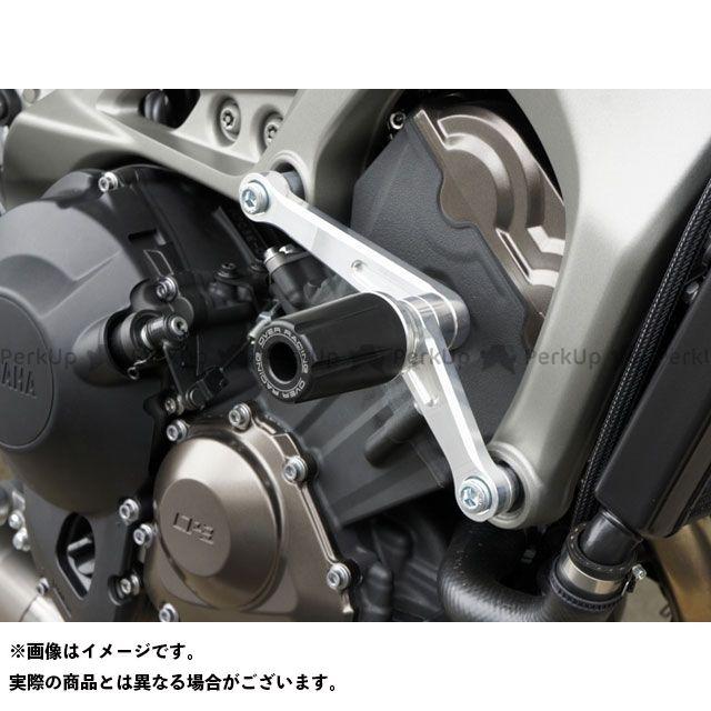 オーバーレーシング MT-09 トレーサー900・MT-09トレーサー XSR900 エンジンスライダー シルバー OVER RACING