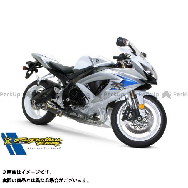 ツーブラザーズレーシング GSX-R600 GSX-R750 GSX-R600/750(08-10) スリップオン/M2 カーボンファイバー ブラック Two Brothers Racing