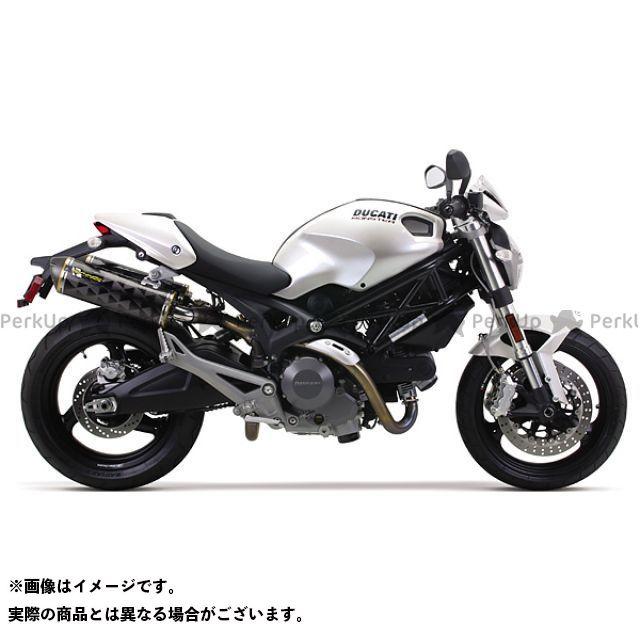 ツーブラザーズレーシング モンスター1100 モンスター696 モンスター696/796/1100(08-14) デュアルスリップオン/M2 アルミニウム ブラック Two Brothers Racing