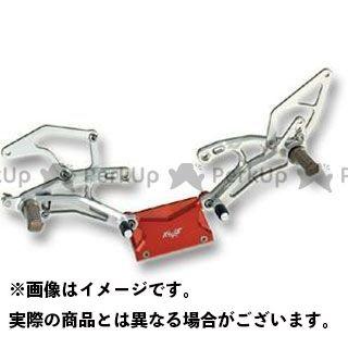 送料無料 ロビーモト GSX-R1000 バックステップ関連パーツ GSX-R1000(07-08) バックステップ STD シルバー