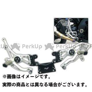 【エントリーで更にP5倍】ロビーモト GSX-R1000 GSX-R1000(09-14) バックステップ RACE RC シルバー Robby Moto Engineering
