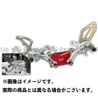 【エントリーで更にP5倍】ロビーモト GSX-R1000 GSX-R1000(09-14) バックステップ SBK シルバー Robby Moto Engineering