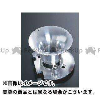 送料無料 ヨシムラ 汎用 キャブレター関連パーツ ショートデュアルスタックファンネルシステムセット for CR-mini22 シルバー