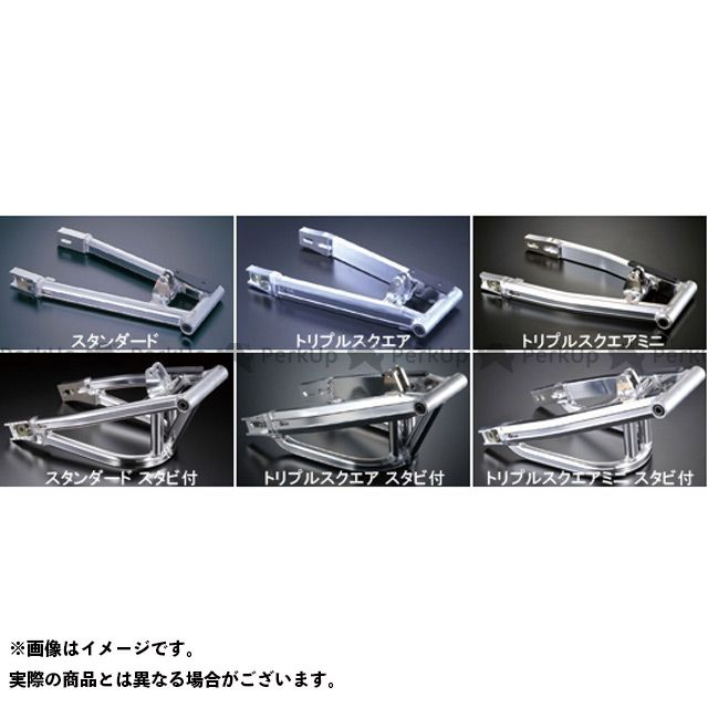 Gクラフト モンキーR モンキーR用トリプルスクエアミニ スタビ無 4cmロング ジークラフト