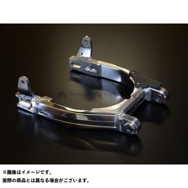 Gクラフト ゴリラ モンキー スーパーワイドスイングアームローコストタイプ ツインショック(トリプルスクエアミニ) 4cmロング ジークラフト