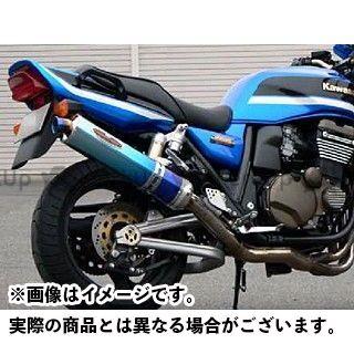 【無料雑誌付き】BEET ZRX1200R ZRX1200S NEW NASSERT-R ボルトオンサイレンサー サイレンサー:ブルーチタン ビートジャパン