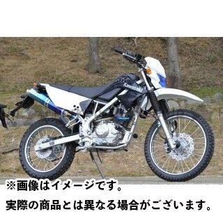 BEET KLX125 New NASSERT-R スリップオン(チタン) ブルーチタン ビートジャパン