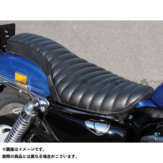 送料無料 イージーライダース スポーツスターファミリー汎用 シート関連パーツ バイパー2コブラシート XL(04-)