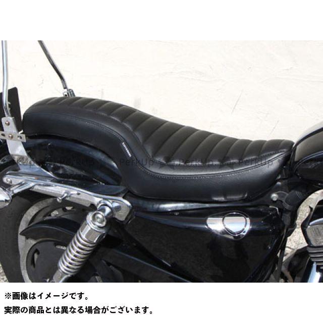 送料無料 イージーライダース スポーツスターファミリー汎用 シート関連パーツ パイソン2コブラシート XL(04-)