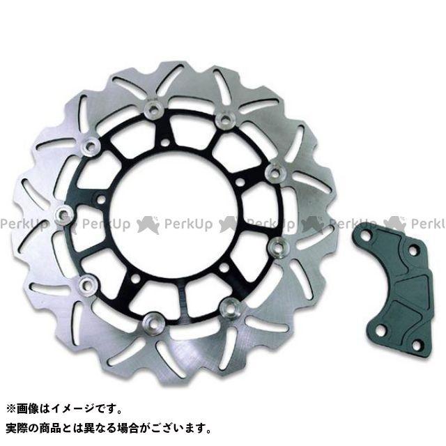 ライズコーポレーション マグザム ディスク マグザム SG17J 大口径 ウェーブブレーキディスクローター ブラック