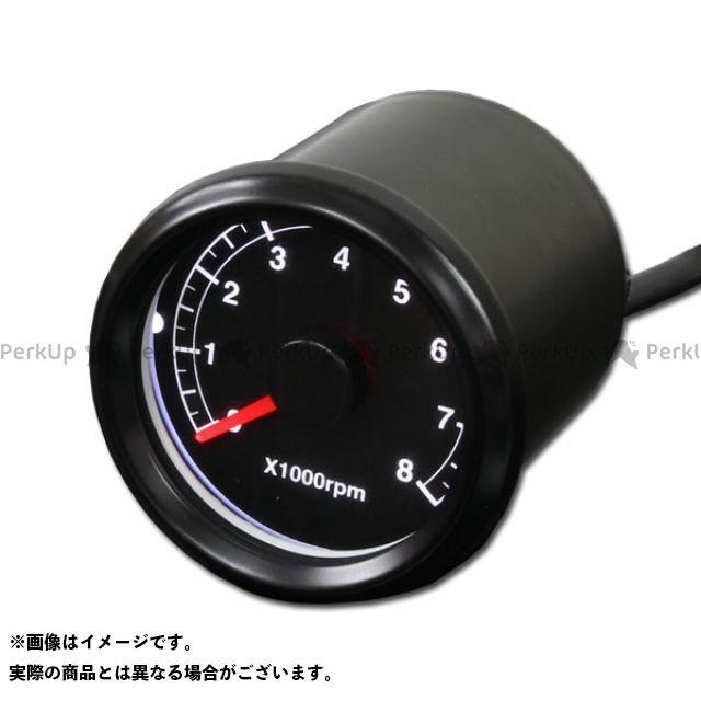 ライズコーポレーション 汎用 バイク用 電気式×1000rpm LEDタコメーター 48mm ブラックボディ パネル:ブラック メーカー在庫あり RISE CORPORATION