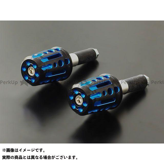 PMC 汎用 スピンドル バーエンド φ13~φ14mm対応 カラー:ブルー ピーエムシー
