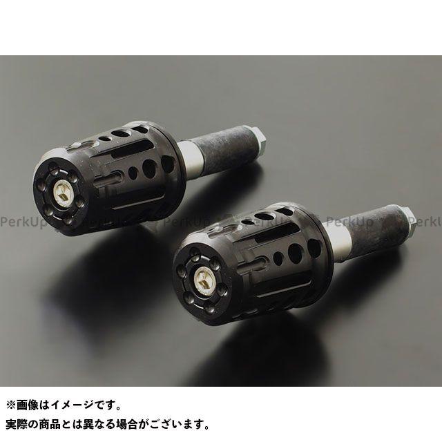PMC 汎用 スピンドル バーエンド φ18~φ19mm対応 カラー:ブラック ピーエムシー