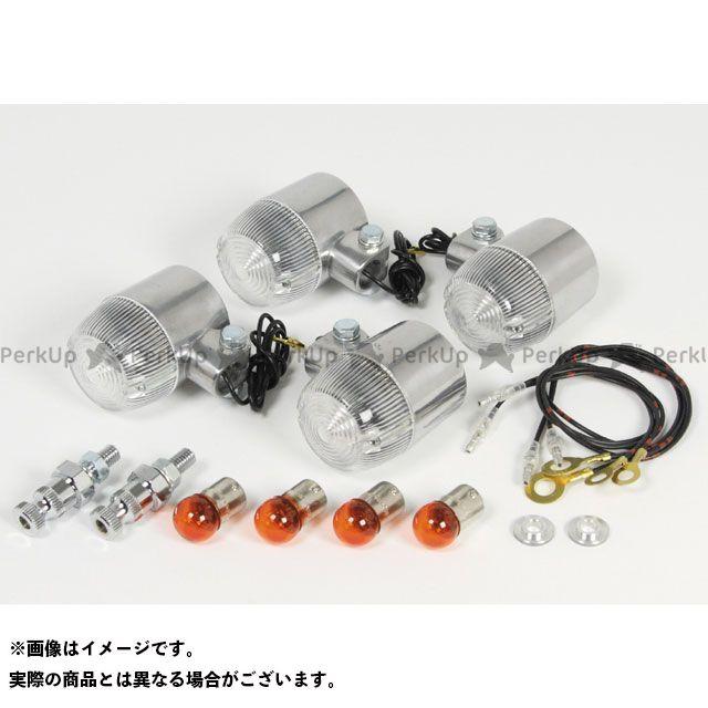 SP武川 クロスカブ110 丸型Mウインカーキット レンズカラー:クリア TAKEGAWA
