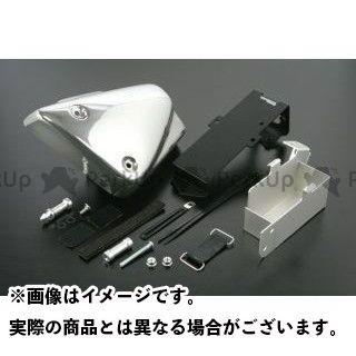 【無料雑誌付き】SP武川 モンキー バッテリーケース&ABSサイドカバーセット カラー:メッキフィルム TAKEGAWA