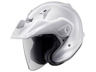 送料無料 アライ ヘルメット Arai ジェットヘルメット CT-Z グラスホワイト 55-56cm
