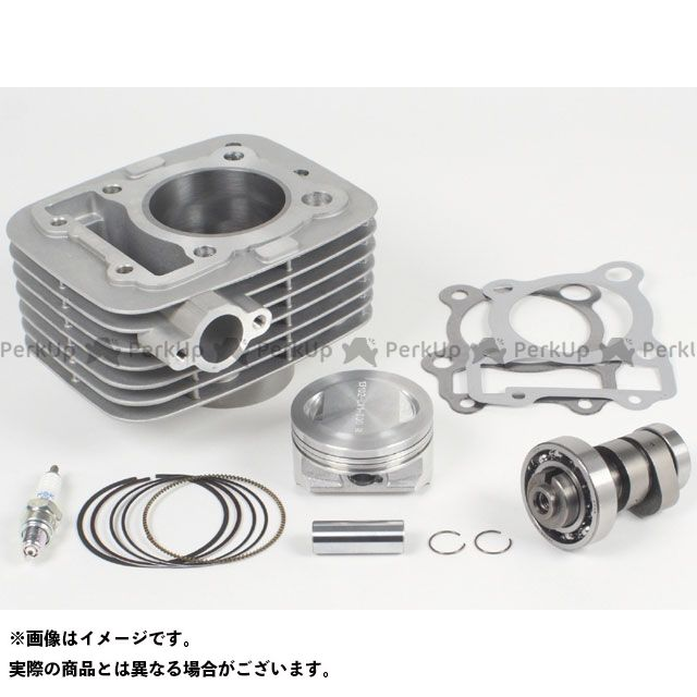 SP武川 Dトラッカー125 KLX125 ボアアップキット Sステージボアアップキット170cc