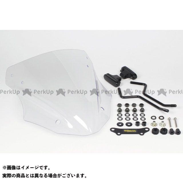 SP武川 Z125プロ スクリーン関連パーツ スクリーンキット ロングタイプ クリア