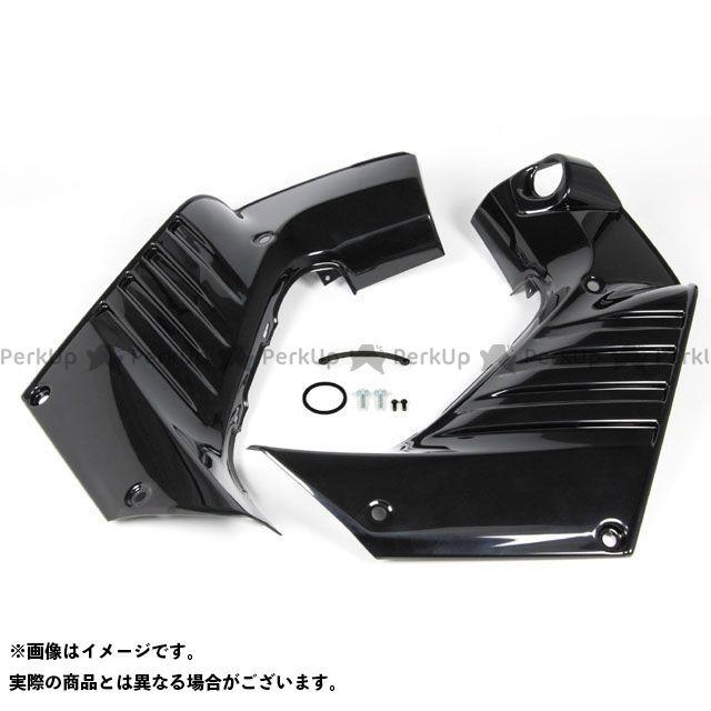 SP武川 クロスカブ110 ハーフカバーセット(ブラック) TAKEGAWA