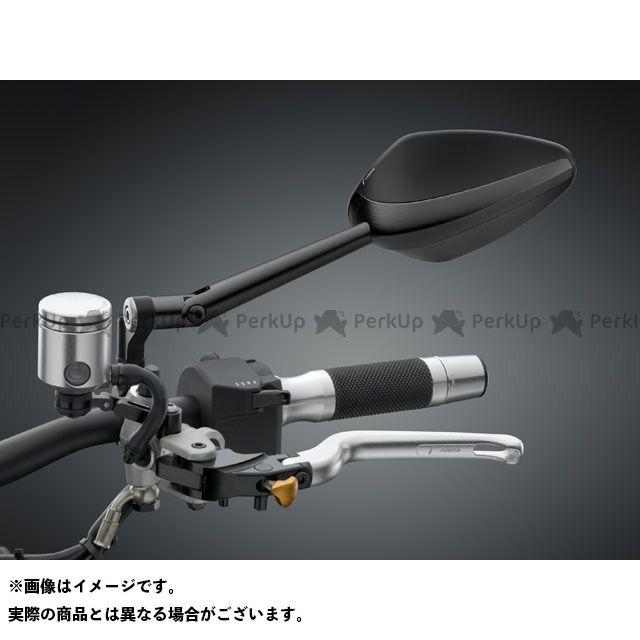 リゾマ 汎用 ミラー関連パーツ ミラー「Veloce NAKED」 ブラック