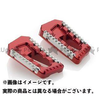 リゾマ 汎用 ステップ ツーリングペグ 左右セット レッド