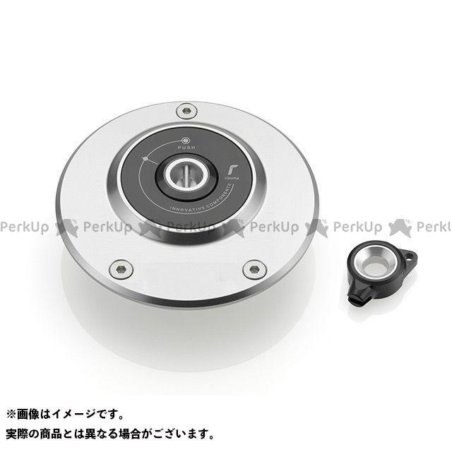 リゾマ ガスタンクキャップ Yamaha用 カラー:シルバー RIZOMA