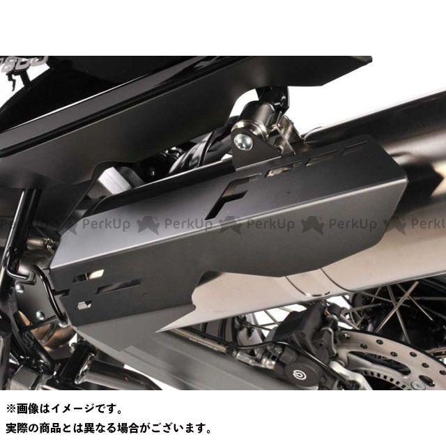 ワンダーリッヒ マフラーヒートガード F650GS/F700GS/F800GS カラー:ブラック Wunderlich