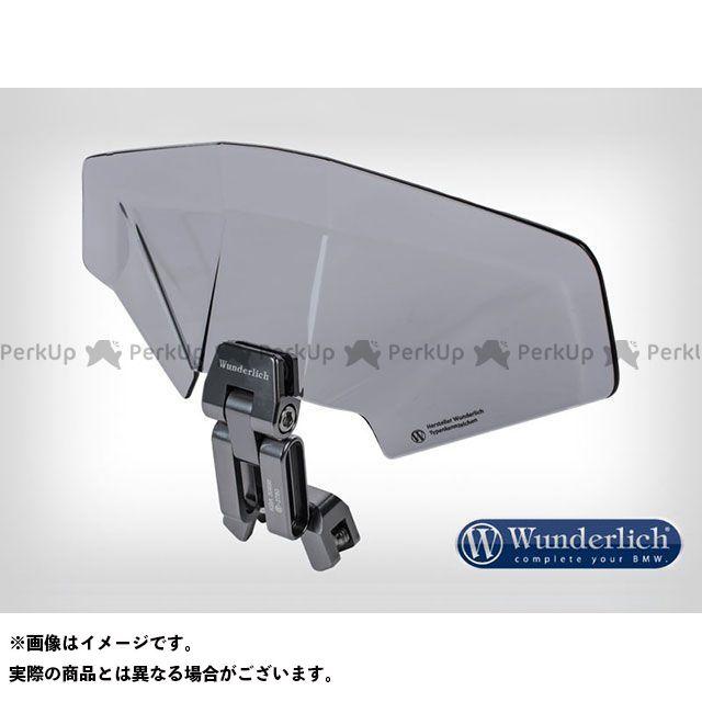ワンダーリッヒ 汎用 スクリーン関連パーツ アジャスタブル 3D plusスクリーンスポイラー スモーク